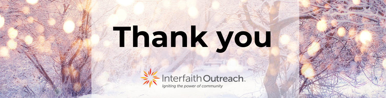 2020 gratitude from Interfaith Outreach