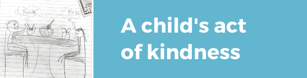 A child's act of kindness