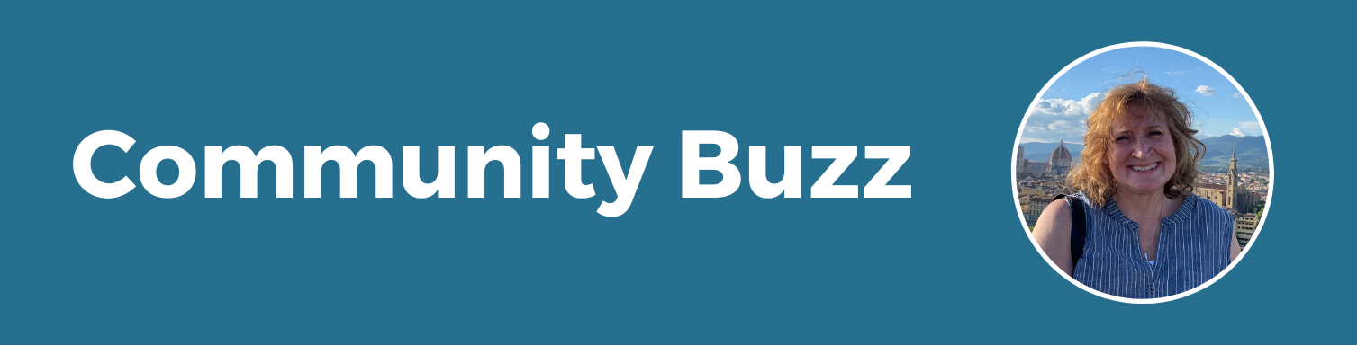 Community buzz Cathy Sandberg