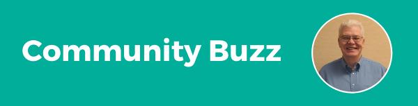 Community buzz teal