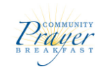 Community Prayer Breakfast logo