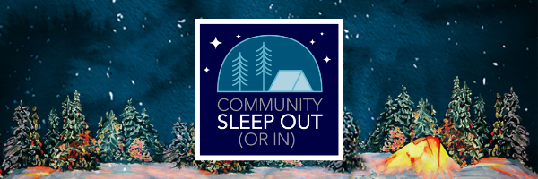 Community sleep out or in