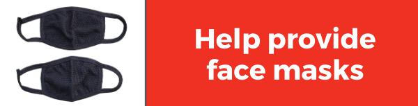 Face masks before June 12 Interfaith Outreach