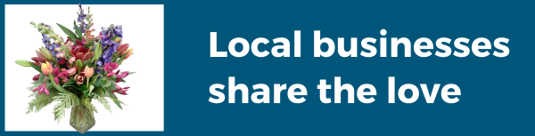 Local businesses share the love