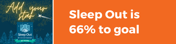 Sleep Out update add your star