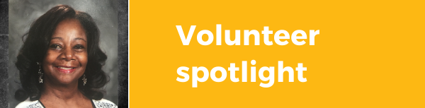 Volunteer spotlight Joyce