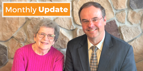 A note from Greg and LaDonna