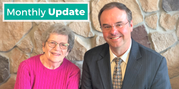 Interfaith Outreach monthly update